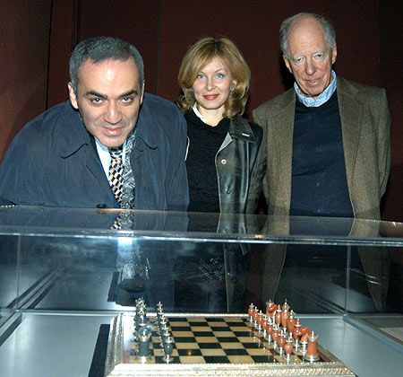 Gary Kasparov and Lord Rothschild