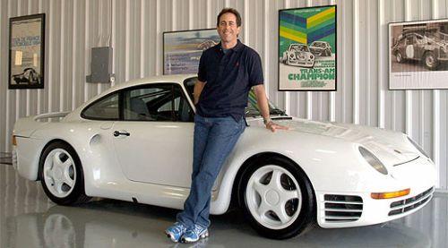 Jerry Seinfeld's Porsche